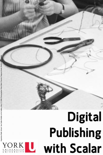 Cover image for Digital Publishing with Scalar